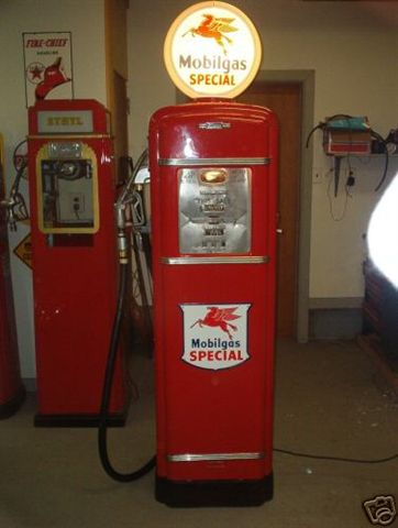 gilbarco gas pump. gilbarco model 96b gas pump